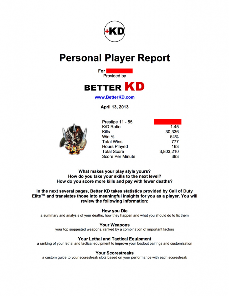Personalized Player Report-cover-full