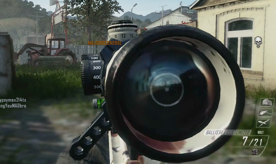 Quick Scoping in Black Ops 2